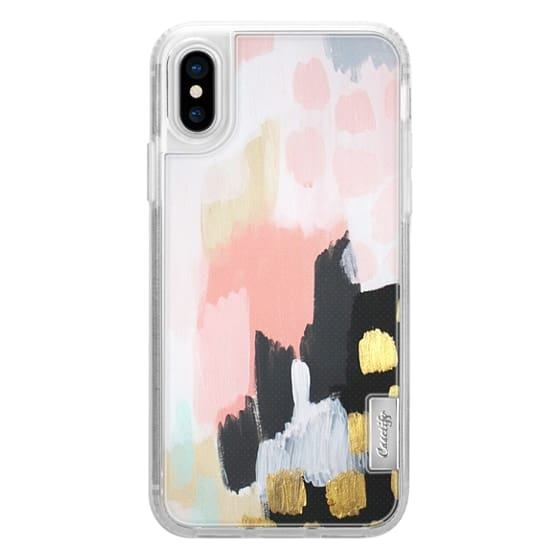 iPhone X Cases - Footprints