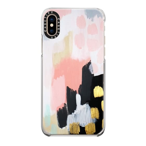 iPhone XS Cases - Footprints