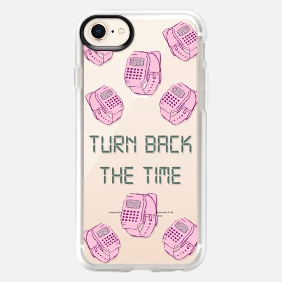 Turn Back the time - Snap Case