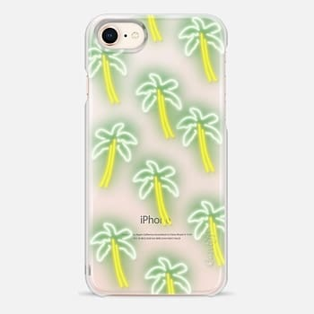 iPhone 8 Case Neon Palm Trees