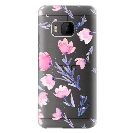 Htc One M9 Cases - Soft floral