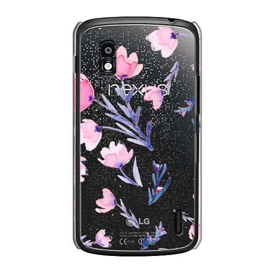 Nexus 4 Cases - Soft floral