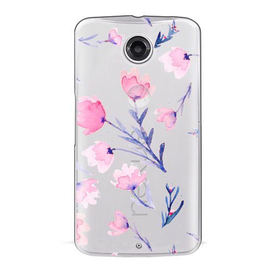 Nexus 6 Cases - Soft floral