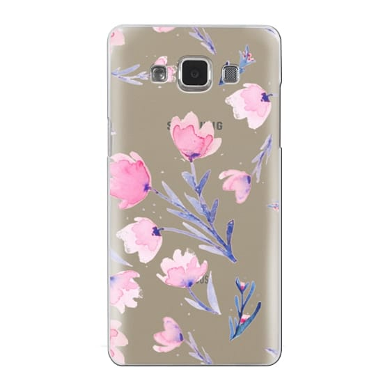 Samsung Galaxy A5 Cases - Soft floral