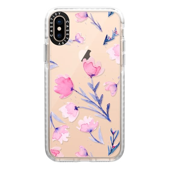 iPhone XS Cases - Soft floral