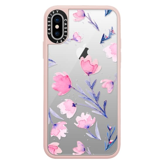 iPhone X Cases - Soft floral