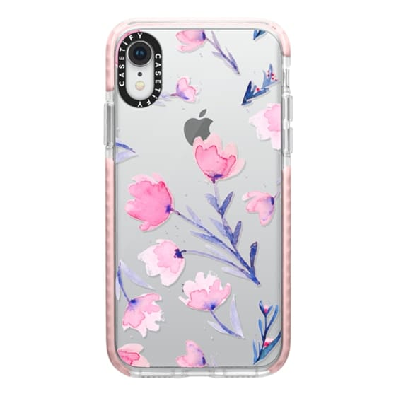 iPhone XR Cases - Soft floral
