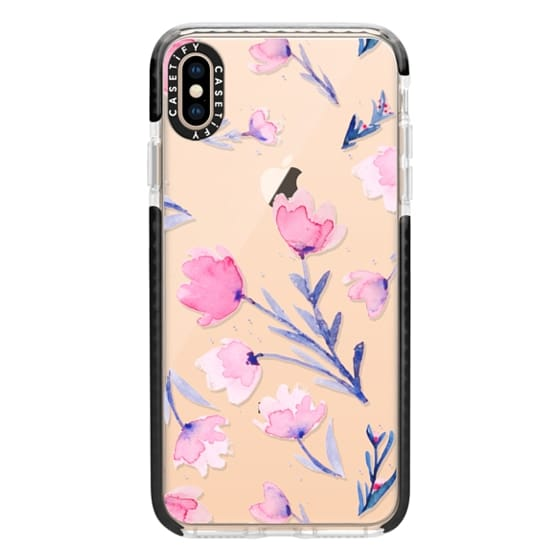 iPhone XS Max Cases - Soft floral