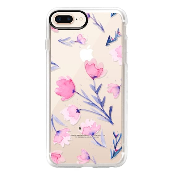 iPhone 8 Plus Cases - Soft floral