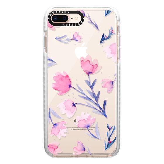 iPhone 8 Plus Cases - Soft floral