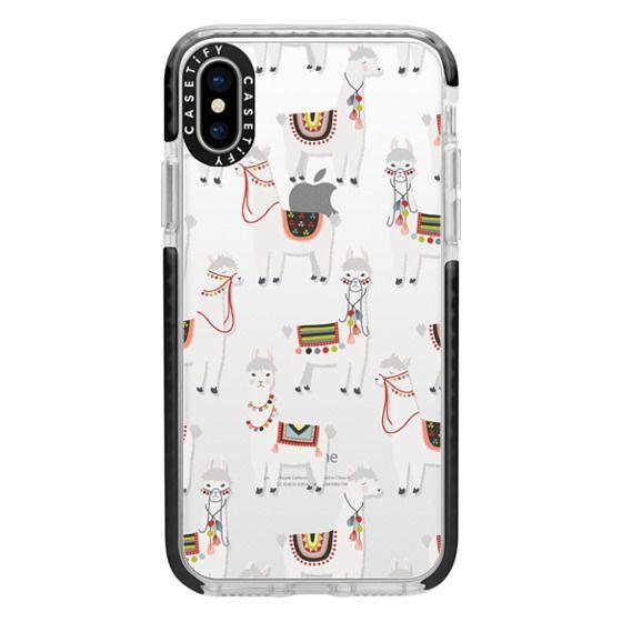 iPhone X Cases - Llama Llama