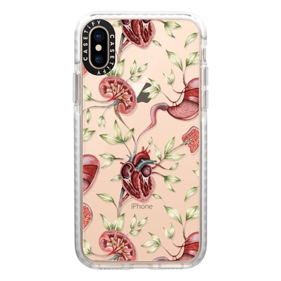 iPhone XS Cases - Anatomy by Miki Rose