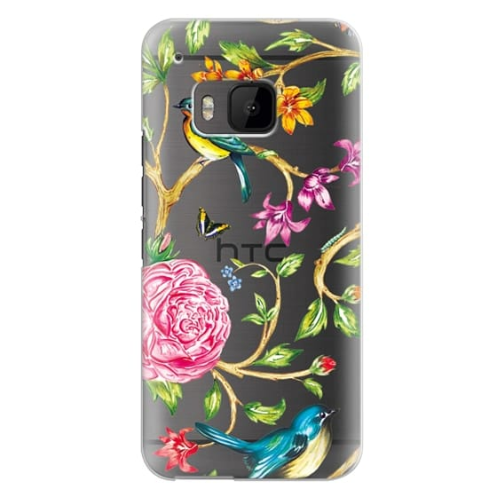 Htc One M9 Cases - Pretty Birds by Miki Rose