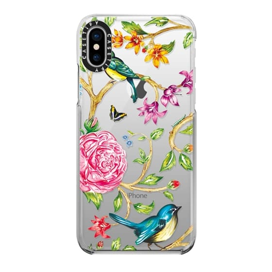 iPhone X Cases - Pretty Birds by Miki Rose