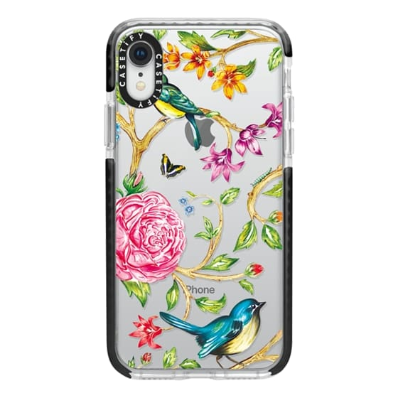 iPhone XR Cases - Pretty Birds by Miki Rose