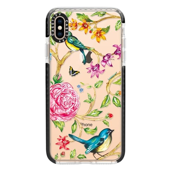 iPhone XS Max Cases - Pretty Birds by Miki Rose
