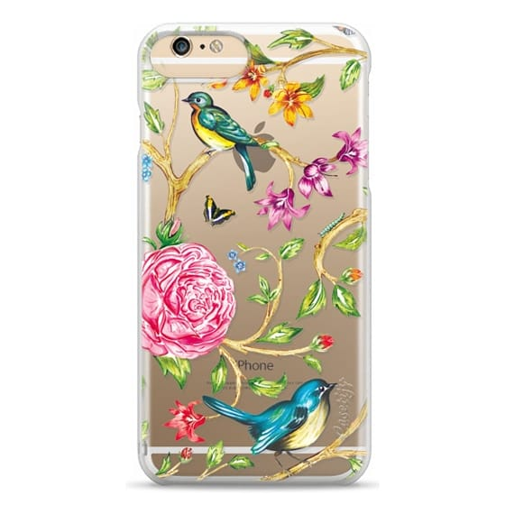 iPhone 6 Plus Cases - Pretty Birds by Miki Rose