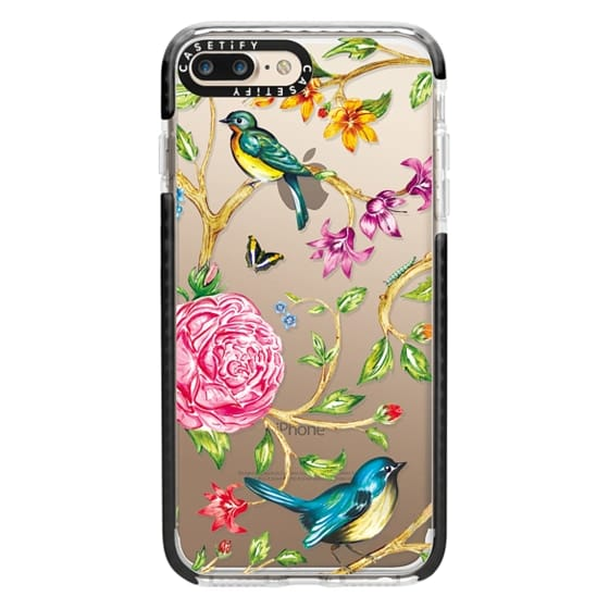 iPhone 7 Plus Cases - Pretty Birds by Miki Rose