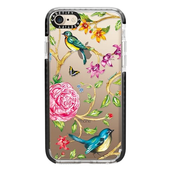 iPhone 7 Cases - Pretty Birds by Miki Rose