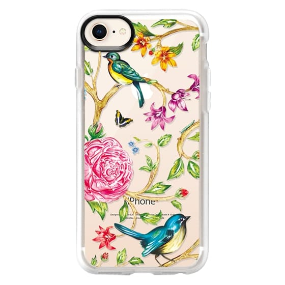 iPhone 8 Cases - Pretty Birds by Miki Rose