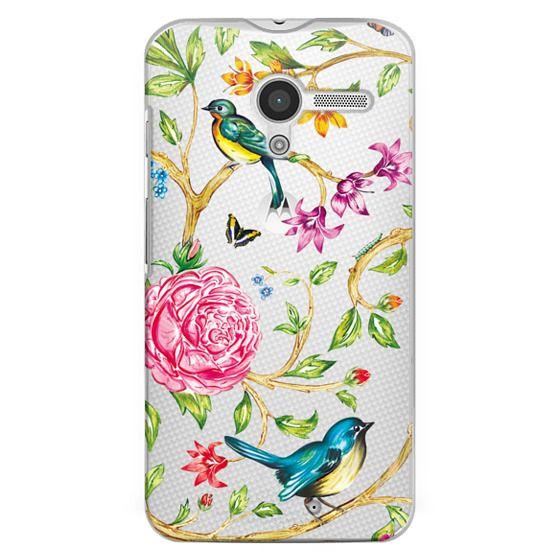 Moto X Cases - Pretty Birds by Miki Rose