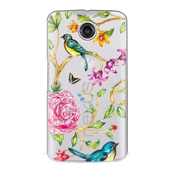 Nexus 6 Cases - Pretty Birds by Miki Rose