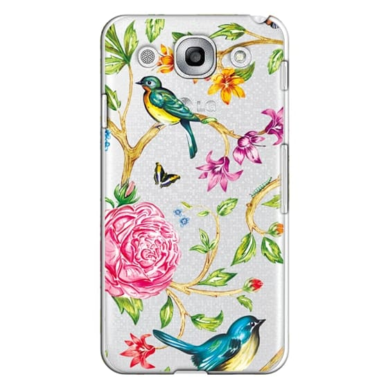 Optimus G Pro Cases - Pretty Birds by Miki Rose