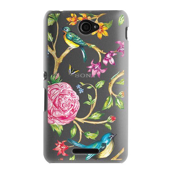 Sony E4 Cases - Pretty Birds by Miki Rose