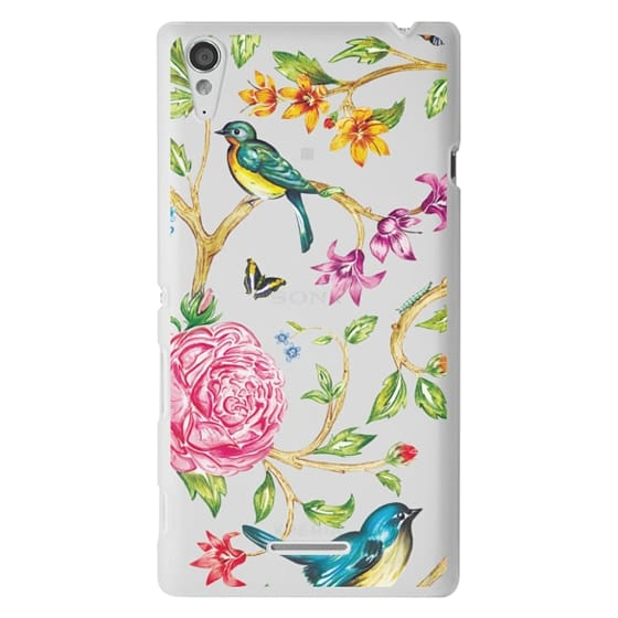 Sony T3 Cases - Pretty Birds by Miki Rose