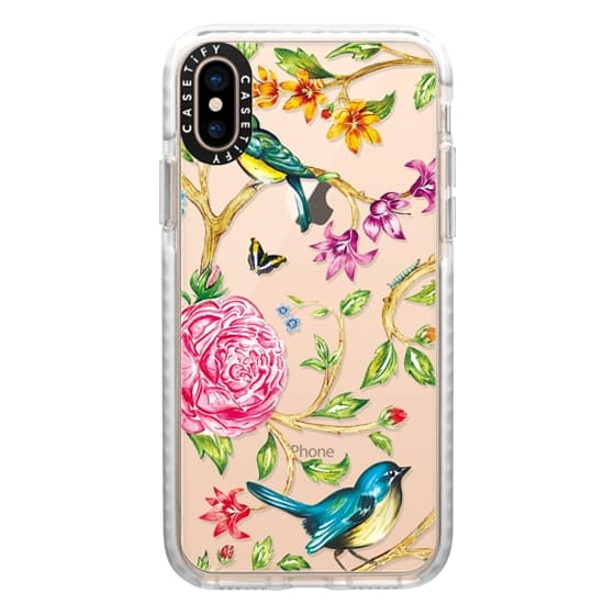 iPhone XS Cases - Pretty Birds by Miki Rose
