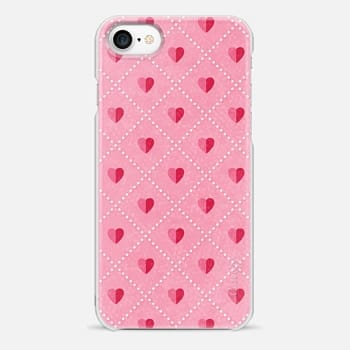 iPhone 7 Case SHABBY CHIC HEARTS