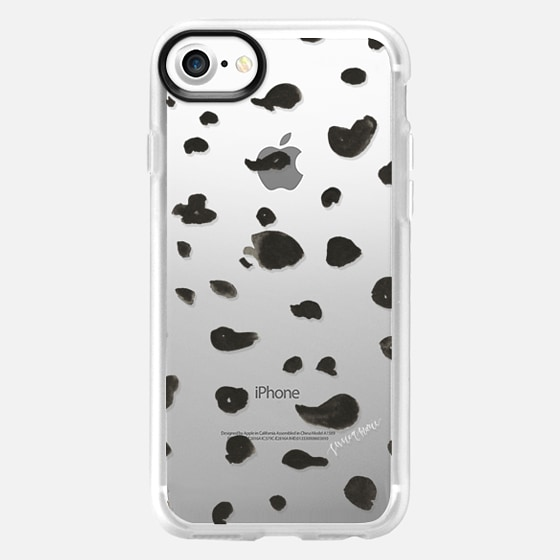Black Spots by Simply Jessica Marie - Classic Grip Case