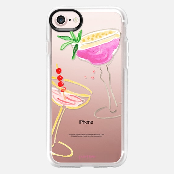 Cocktails and Cheers by Simply Jessica Marie - Classic Grip Case