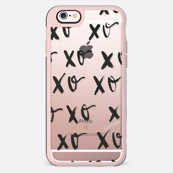 Black XOXO by Simply Jessica Marie - New Standard Case