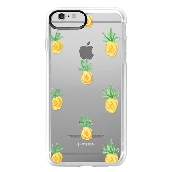 iPhone 6 Plus Cases - Pineapples by Simply Jessica Marie