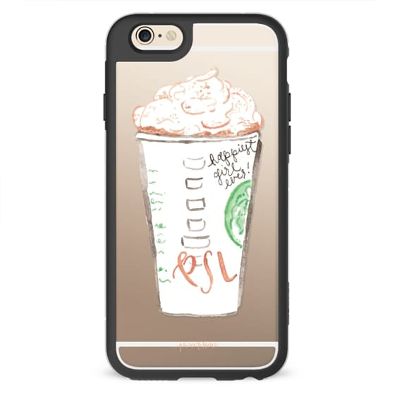 iPhone 6s Cases - Pumpkin Spice Latte Illustration by Simply Jessica Marie