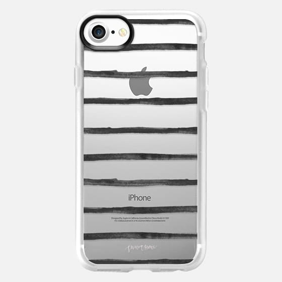 Black Stripes by Simply Jessica Marie - Snap Case