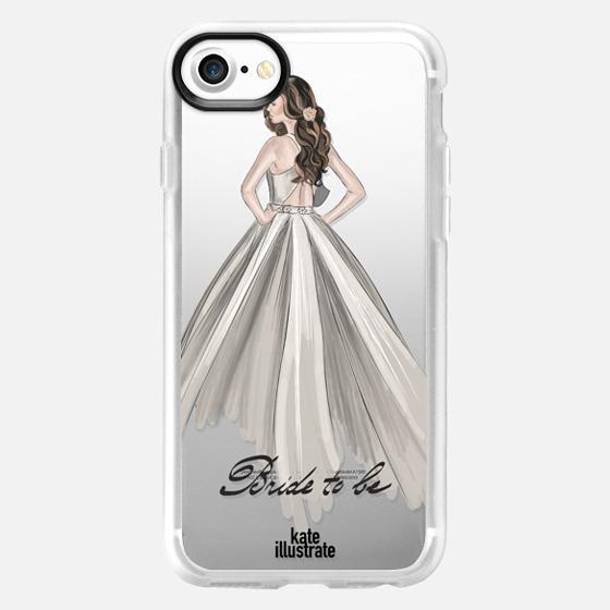 Bride To Be (Transparent)  - Classic Grip Case
