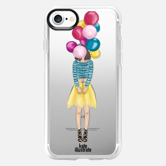 Girl with Balloons - Classic Grip Case