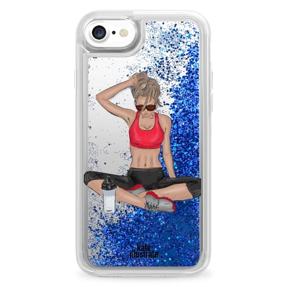 official photos ce0d2 9fa40 Glitter iPhone 7 Case - Sports Girl