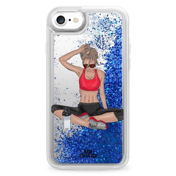 official photos 128ba a3984 Glitter iPhone 7 Case - Sports Girl