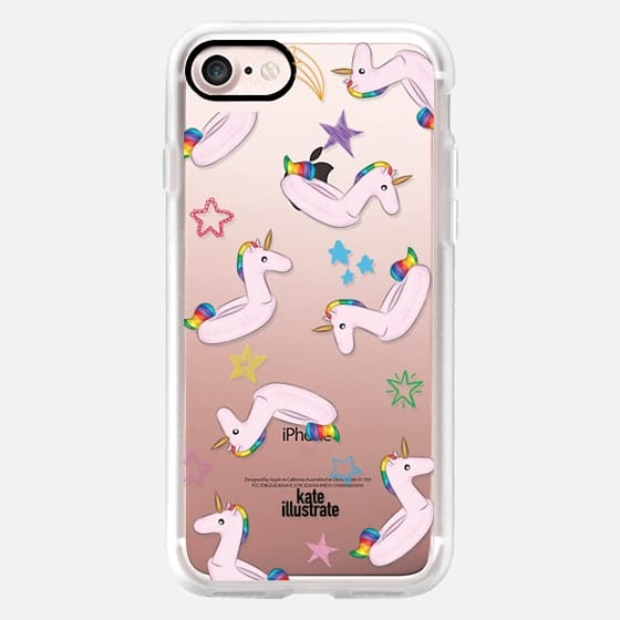 Pink Unicorn Float - Classic Grip Case