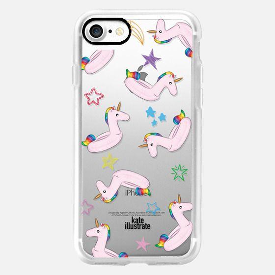 Pink Unicorn Float - Classic Grip Case