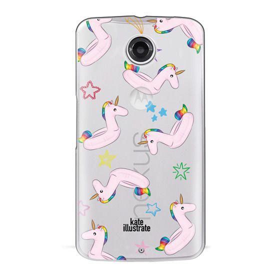 Nexus 6 Cases - Pink Unicorn Float
