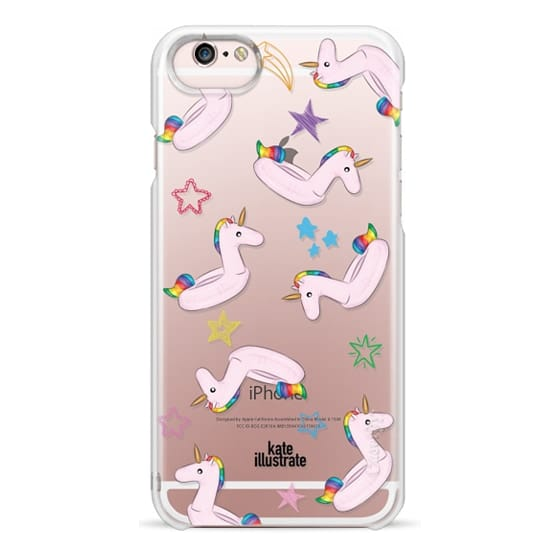 iPhone 6s Cases - Pink Unicorn Float