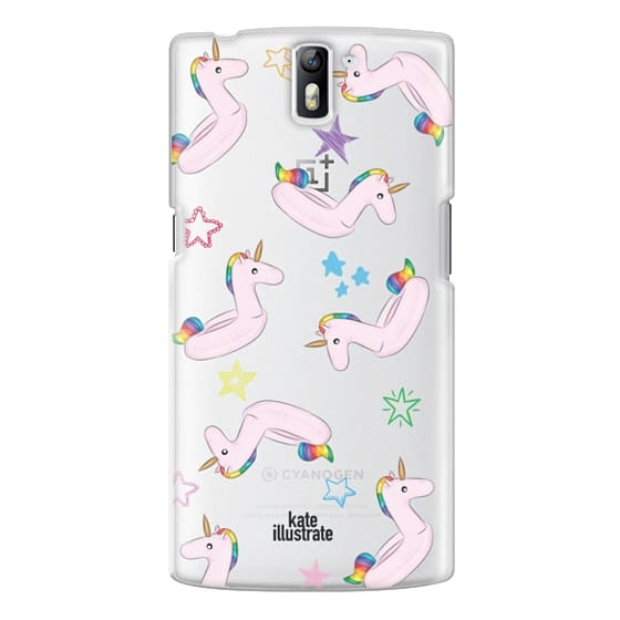 One Plus One Cases - Pink Unicorn Float
