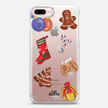 iphone 7 plus case gingerbread cookies and new year
