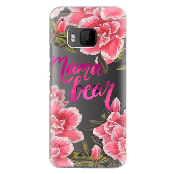 Htc One M9 Cases - Mama Bear Fleurs by EttaVee