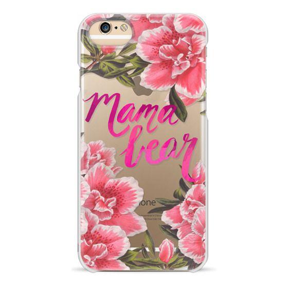 iPhone 6 Cases - Mama Bear Fleurs by EttaVee