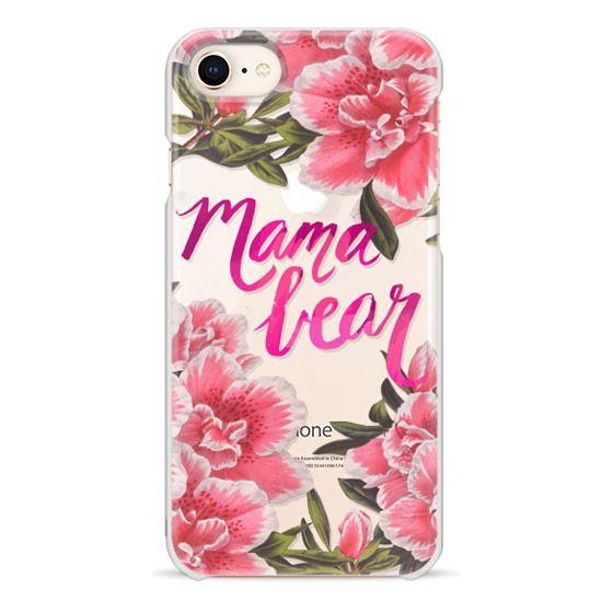 iPhone 8 Cases - Mama Bear Fleurs by EttaVee